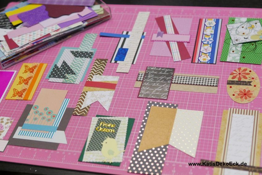 Tutorial – Paper embellishments for handmade greeting cards