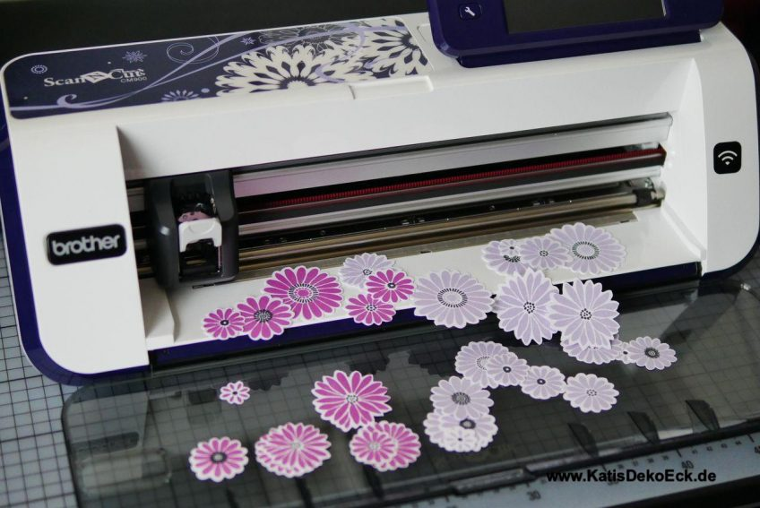 Cutting stamped images with the ScanNCut – does it work?
