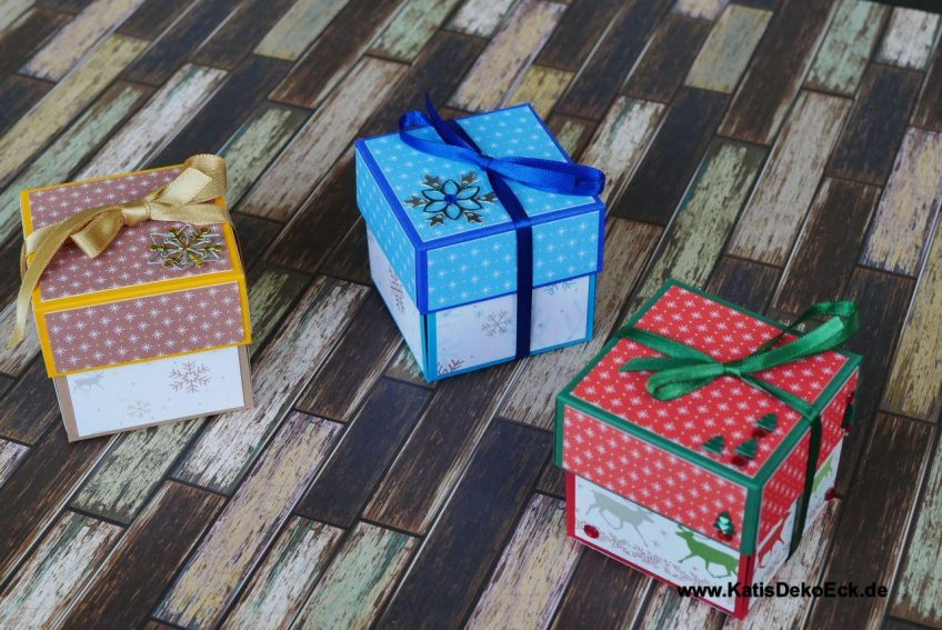 Christmas will be a bang – how to build an explosionbox for a nice christmas gift