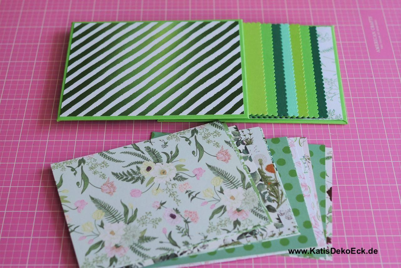 Green oh so green – the ring book photo album tutorial part 1